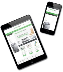 w2p online ordering for printing business management Saas cloud based mis Docket Manager
